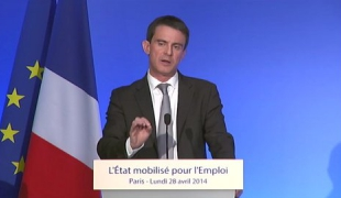Emploi : Manuel Valls défend le pacte de responsabilité