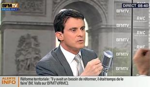 """Manuel Valls : """"rendre nos régions plus fortes et plus compétitives"""""""