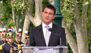 Discours de Manuel Valls à l'occasion de la commémoration de la rafle du Vel' d'Hiv