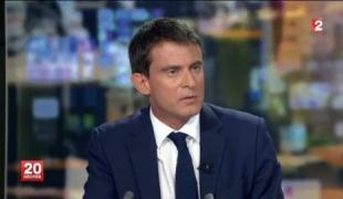 Le Premier ministre au JT de France 2