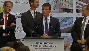 """""""Inaugurer un établissement scolaire c'est d'abord faire face à l'avenir"""""""