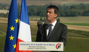 """La France est capable de sursaut, capable de se dépasser"". Commémoration de la bataille de la Marne"