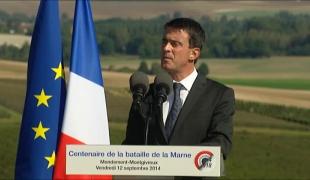 """""""La France est capable de sursaut, capable de se dépasser"""". Commémoration de la bataille de la Marne"""