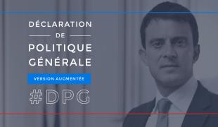Déclaration de politique générale (version augmentée) de Manuel Valls, Premier ministre