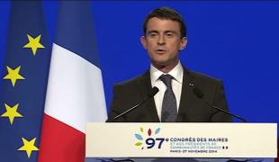 Discours de Manuel Valls au 97e Congrès des maires de France