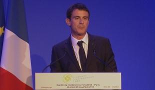 Discours de Manuel Valls - Clôture de la conférence environnementale