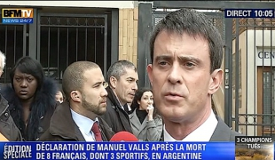 """""""La France est touchée et attristée, nous pensons aux victimes et à leurs proches"""""""
