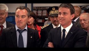 Tout pour l'emploi - Visite de Manuel Valls dans la TPE Le Câblage Français (LCF)