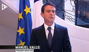 """Manuel Valls : """"La France est une nation forte et solidaire, et elle ne cédera jamais à la peur"""""""