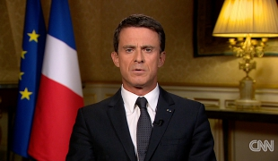 """""""We must each take our share, and France will take its share fully, with enthusiasm and generosity"""""""