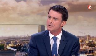 Manuel Valls, invité du journal télévisé de France 2, le 14 décembre 2015