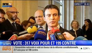 """Révision constitutionnelle : """"C'est une réforme qui vise à protéger la Nation et nos compatriotes"""""""