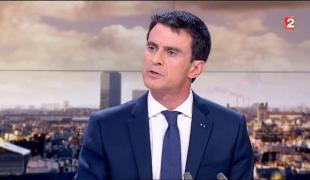 Manuel Valls, invité du 20h de France 2
