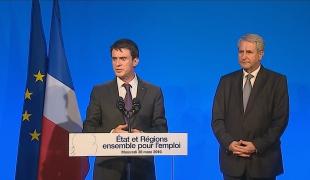 """""""En signant une plateforme d'engagements, l'État et les régions ont décidé aujourd'hui d'unir davantage leurs forces"""""""