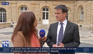 Manuel Valls répond aux questions de la jeunesse