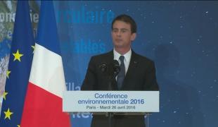 """""""La transition écologique, c'est le choix de la modernité, des emplois de demain, de la croissance renouvelable et de l'économie verte"""""""