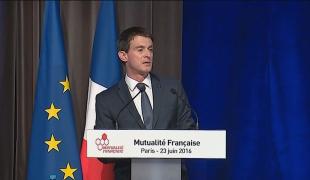 Discours de Manuel Valls lors de l'assemblée générale de la Fédération de la Mutualité française