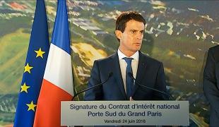 """""""C'est cette méthode, la construction avec les territoires, qui guide notre action pour le Grand Paris"""""""