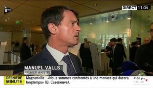 """""""La détermination de la France, qui est attaquée pour ce qu'elle est, pour ses valeurs, ne doit pas faiblir"""""""