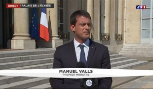 """#Nice : """"La France ne cédera pas à la menace terroriste"""""""