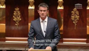 Prolongation de l'état d'urgence : discours de Manuel Valls à l'Assemblée nationale
