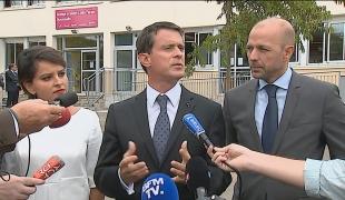 A Bourg-en-Bresse, Manuel Valls rappelle les engagements du Gouvernement pour la rentrée scolaire 2016