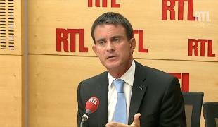 """Manuel Valls sur RTL : """"La croissance revient grâce à la politique que nous avons menée en faveur des entreprises. Il y a des résultats"""""""