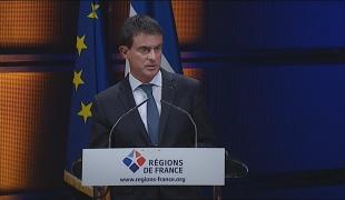 """Manuel Valls au Congrès des Régions de France : """"En renforçant l'autonomie financière des régions, nous écrivons ensemble un nouveau chapitre de la décentralisation"""""""