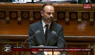 Déclaration de politique générale au Sénat du Premier ministre, Édouard Philippe