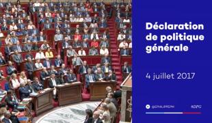 Déclaration de politique générale du Premier ministre Édouard Philippe