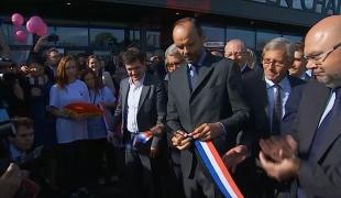 Inauguration de la foire de Châlons-en-Champagne