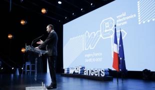 Édouard Philippe à la 22e édition du World Electronic Forum à Angers