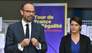Lancement du Tour de France de l'Égalité entre les femmes et les hommes
