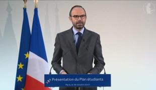 Édouard Philippe présente le Plan étudiants