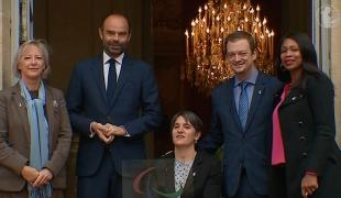Déclaration à l'issue de la rencontre avec le président du Comité international paralympique