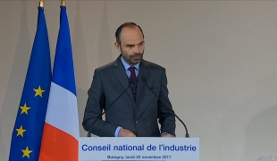 Édouard Philippe présente l'ambition du Gouvernement pour l'industrie