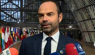 Édouard Philippe au 5ème sommet du Partenariat oriental