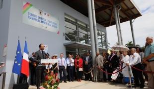 Inauguration du centre sportif socio-culturel Emmanuel Albon