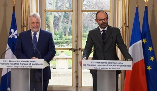 20ème Rencontre alternée entre les Premiers ministres français et québécois