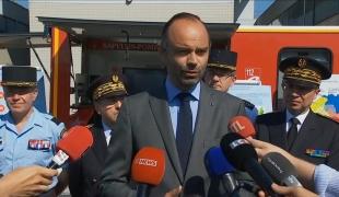Point presse au Centre de formation des cadres de la Brigade des sapeurs-pompiers de Paris