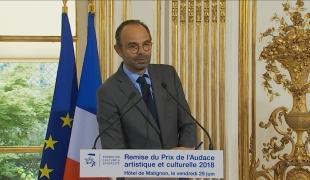 Remise du Prix de l'Audace artistique et culturelle 2018