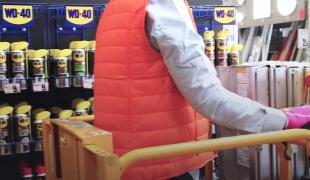 Le protocole sanitaire d'un magasin de bricolage d'Arques