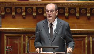 La déclaration de politique générale au Sénat du Premier ministre, Jean Castex