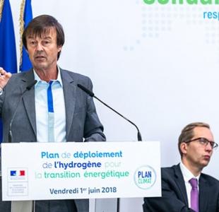 """Plan hydrogène : """"faire de notre pays un leader mondial de cette technologie"""""""