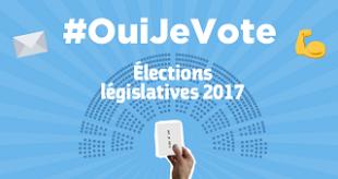Élections législatives 2017 #Ouijevote
