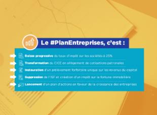 #PlanEntreprises : des mesures pour renforcer l'investissement des entreprises