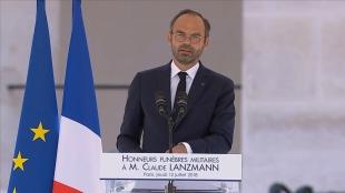 Honneurs funèbres militaires à Claude Lanzmann