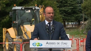 Assises de l'eau : Édouard Philippe annonce les premières mesures