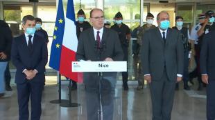 Sécurité intérieure : déclaration de Jean Castex à Nice