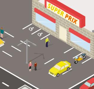 Feuilleton #LoiMacron, épisode 7 : Ahmed croisera-t-il Marie en faisant ses courses au SuperPrix ?
